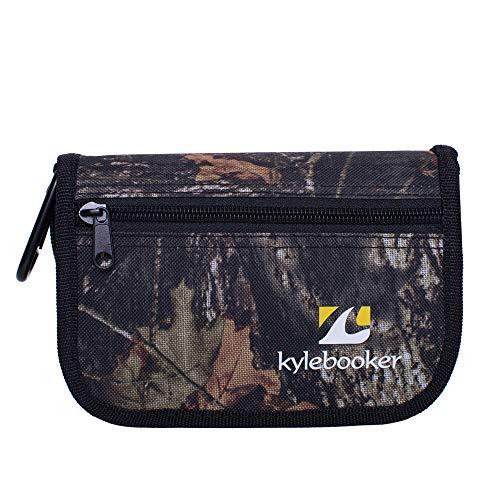 Kylebooker Fishing Lure Storage Bag Spinner Baits Wallet Case (Camouflage)