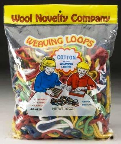 Weaving Loops, 16-Ounce (Cotton Loom Loops)
