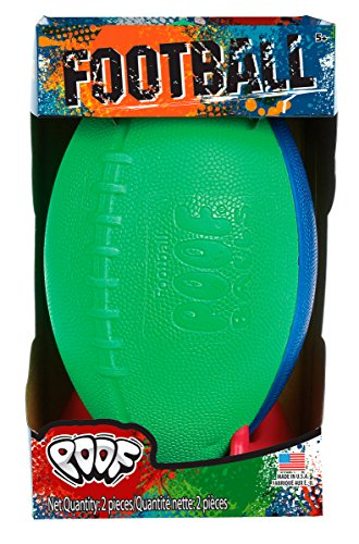 POOF Football with Kicking Tee in Box - Assorted Colors