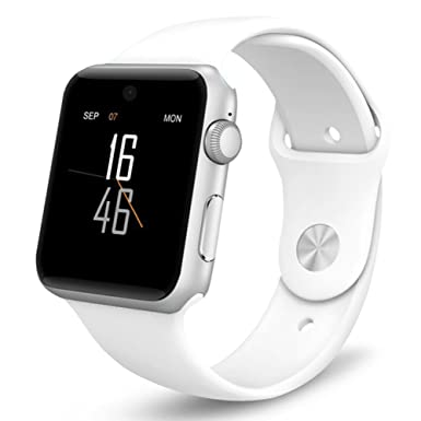 Reloj inteligente Lemfo LF07 para bluetooth, con soporte para tarjeta SIM y compatible con dispositivos