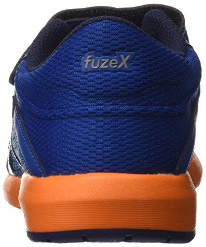 Asics Fuzex Lyte 2 Ps, Zapatillas de Deporte Unisex Niños Multicolor (Imperial/white/hot Orange)