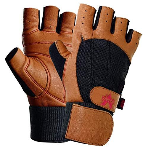 - Valeo Wrist Wrap Padded Ocelot Lifting Gloves, Gym Gloves, Workout Gloves, Exercise Gloves for Powerlifting, Cross Training, Rowing for Men & Women