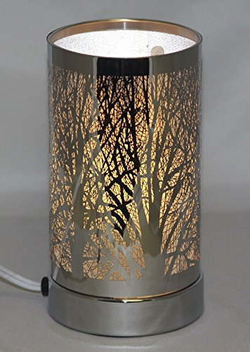 - Multi 5 Color Changing Trees Forest Oil Aroma Lamp Tree Theme- Flame-Less LED