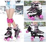 Otw-Cool Adjustable Roller Skates for Girls and