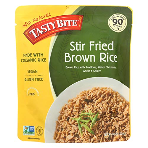 Tasty Bite Stir Fried Brown Rice, 8.8 Ounce - 6 per case.