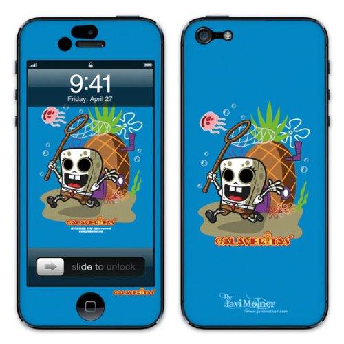 Diabloskinz B0081-0066-0027 Vinyl Skin für Apple iPhone 5/5S Hunted
