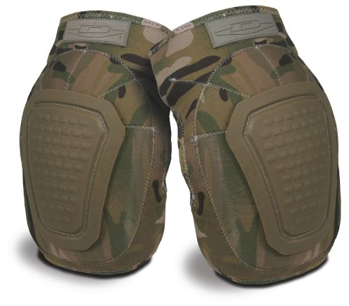 Damascus DNKPM Imperial Neoprene Knee Pads with Reinforced Non-slip Trion-X Caps, Multi-Cam Camo