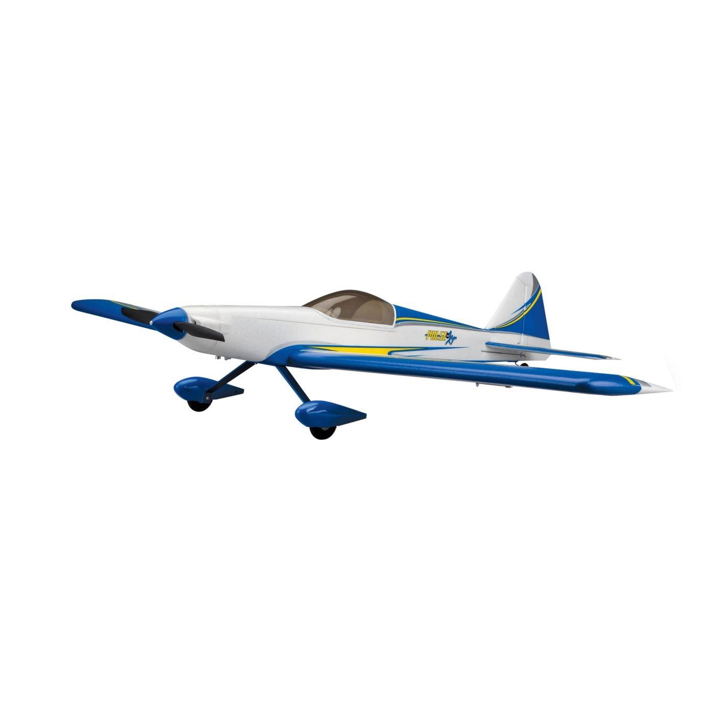 Amazon.com: Force RC Pulse 15e 1.4m PNP Radio Control Airplane: Toys & Games
