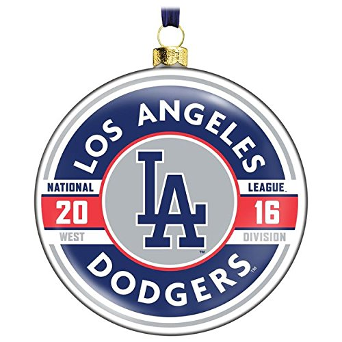 MLB Glass Ornament (Los Angeles Dodgers