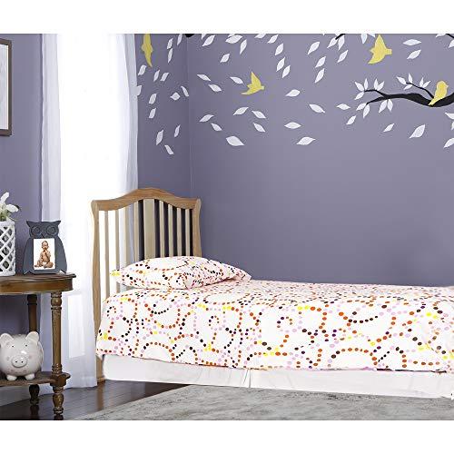 Amazon.com : Dream On Me Addison 4 in 1 Convertible Mini Crib, Natural : Baby