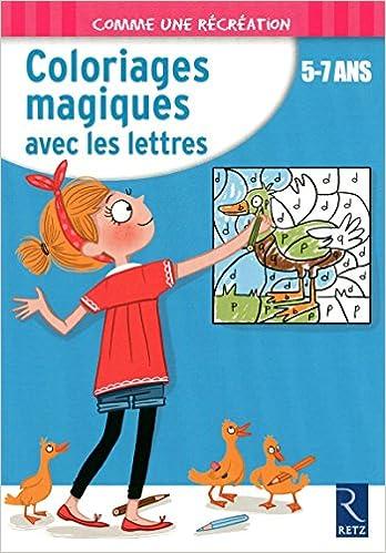 Amazon Fr Coloriages Magiques Avec Les Lettres Ernest