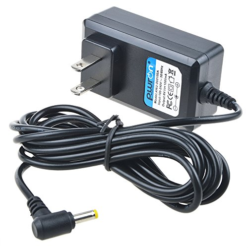 PwrON 6.6 FT 6V AC to DC Adapter For Uniden Handheld Scanner BC72XLT BC246T BC346XT BCD396XT BCD396T BR330T