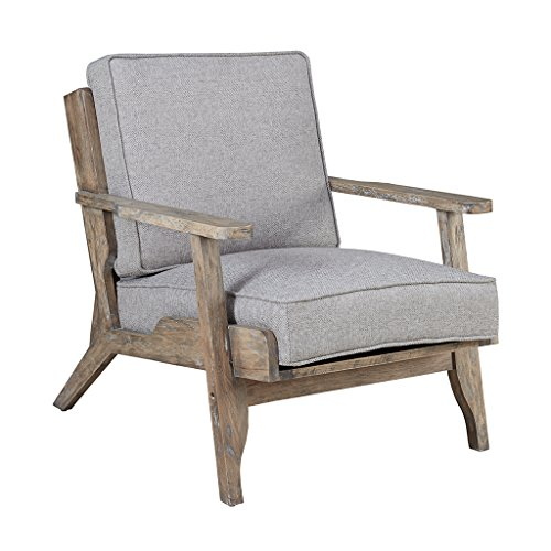 - Ink+Ivy IIF18-0046 Malibu Accent Chair, Grey