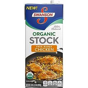 Swanson Organic Chicken Stock, 32 oz