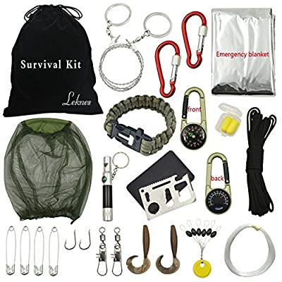 Leknes Outdoor Survival Kits Emergency Kits For Disaster Preparedness