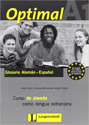 Descargar ebook gratis para kindle Optimal A1 - Glossar A1 Spanisch: Lehrwerk für Deutsch als Fremdsprache PDF FB2 3126061524