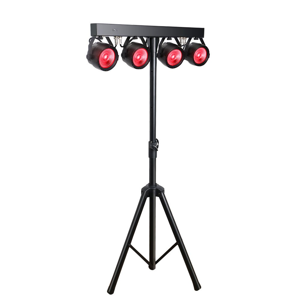 Stage Lights Package Lalucenatz Rgb Tricolors Cob Led Par Light Circuit Board Buy Boardled Kit With Tripod And Carry Bag For Dj Gig Bar Christmas Parties Musical