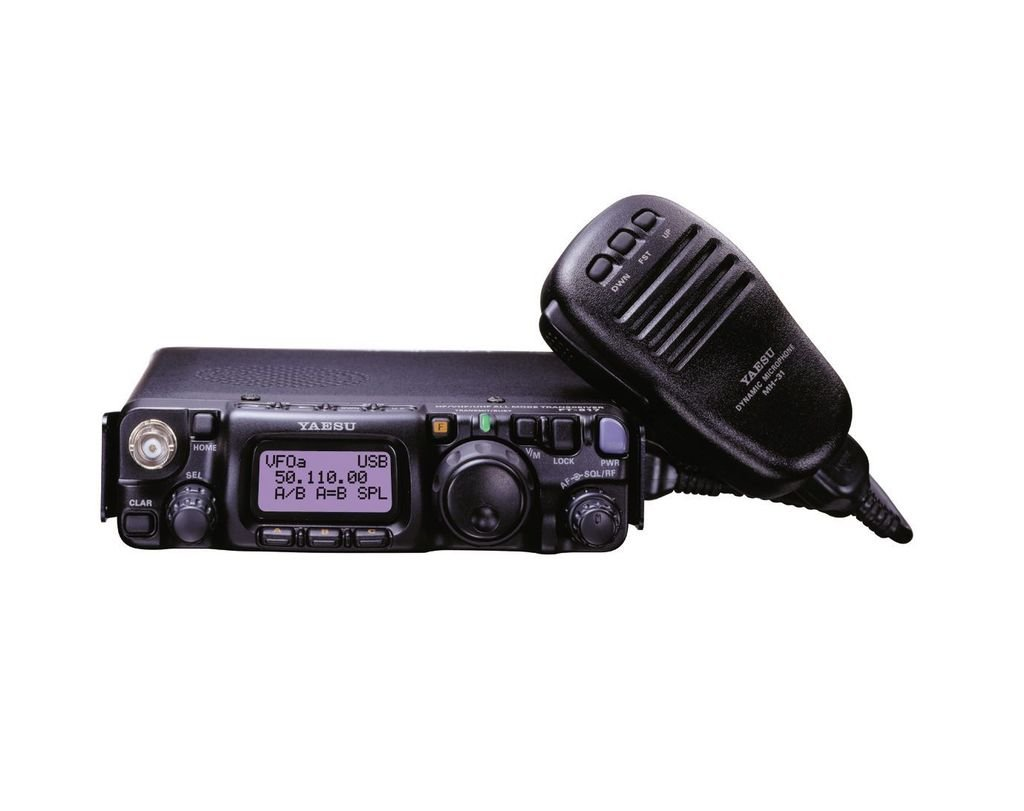 Bundle - 3 Items - Includes Yaesu FT-817ND HF/VHF/UHF QRP Portable Radio with the New Radiowavz Antenna Tape (2m - 30m) and HAM Guides Quick Reference Card