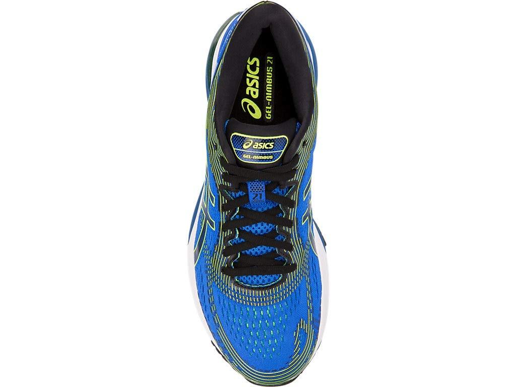 ASICS Men's Gel-Nimbus 21 Running Shoes, 7M, Illusion Blue/Black by ASICS (Image #3)