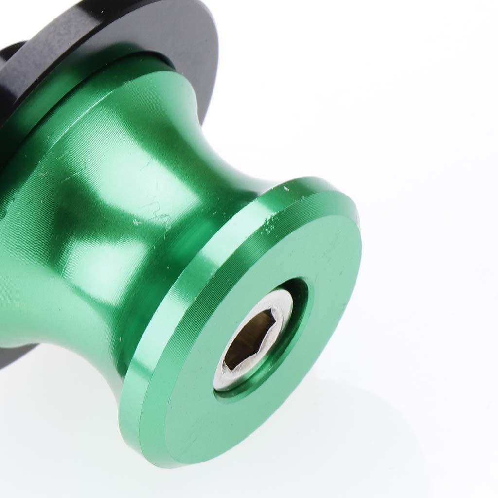 B Blesiya 2 in 1 Multicolor Swing Arm Sliders Spools Stand Bobbins Starting Frame Screw Green 8mm