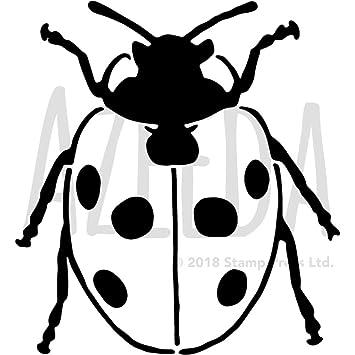 A4 \'Pretty Ladybird\' Wall Stencil / Template (WS00027975): Amazon.co ...