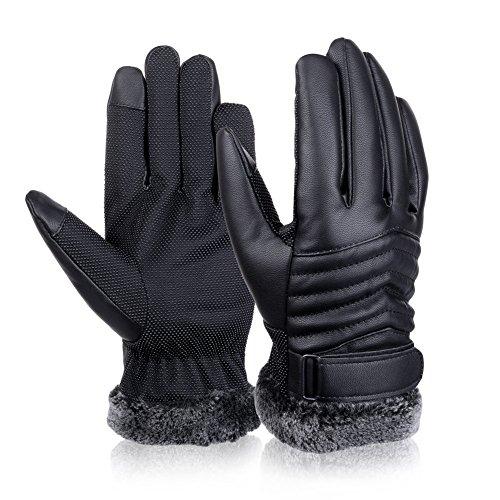 Vbiger TouchscreenHandschuhe Outdoor Handschuhe für Herren