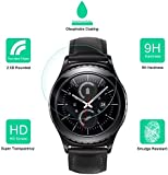 Prosper Round edge 2.5 D Tempered glass for Samsung Gear S2 Classic (Pack of 2)