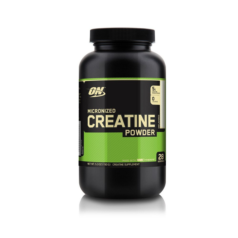 OPTIMUM NUTRITION Micronized Creatine Monohydrate Powder Unflavored 150g