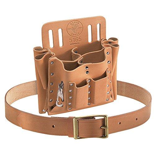 Klein Tools 55210 10-Pocket Tool Pouch and Belt (10 Pocket Belt)