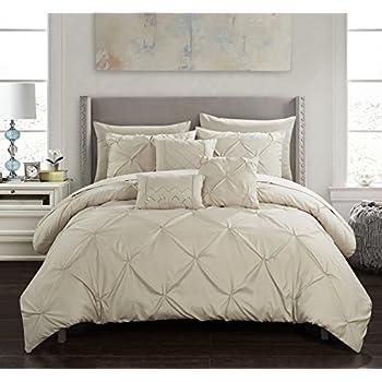 Amazon Com Chic Home Hannah 10 Piece Comforter Complete