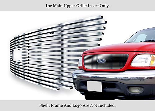 APS Fits 1999-2003 Ford F-150/ Lightning Honeycomb Stainless T304 Billet Grille Grill - Honeycomb F150 Ford