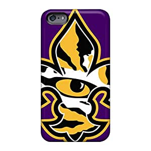 High Quality Cell-phone Hard Cover For Apple Iphone 6 Plus (mzs4276QCOF) Provide Private Custom Realistic Lsu Tiger Eye Pattern