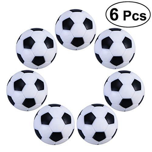 OULII 6PCS Soccer Ball Kids Toys Table Football Balls for Russia 2018 FIFA World Cup Decorations