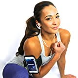 ioi Works Sport Exercise Armband for iPhone 5/5S/5C & iPod Touch 5 with Key Holder and More - #1 Hottest Running Sports Bands of 2015!