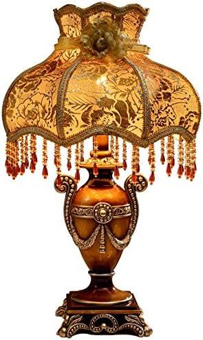 ASL Lámpara de Mesa de Resina, lámpara de cabecera del Dormitorio ...