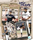 Jake Peavy 2007 NL Cy Young 8x10 Photo