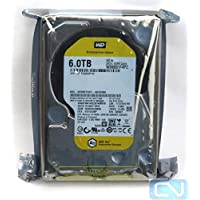 WD Ae 6TB Hard Drive for Backup Storage - 3.5 HD, SATA 6 Gbps, 64MB Cache - WD6001F4PZ
