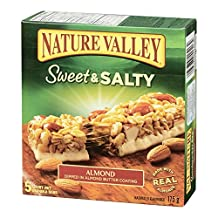 Nature Valley  Sweet and Salty Almond, 5-Count, 175 Gram