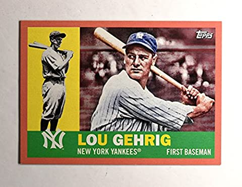2017 Topps Archives Peach #99 Lou Gehrig /199 - 99 Peaches