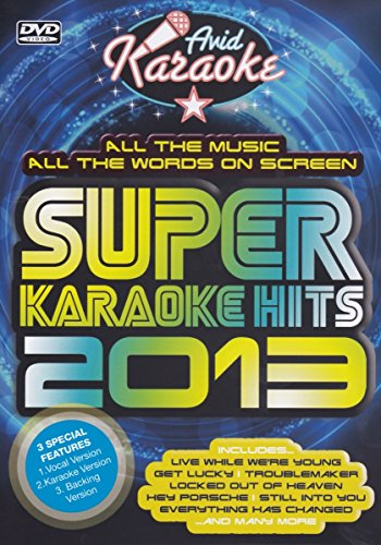 Super Karaoke Hits 2013 [DVD]
