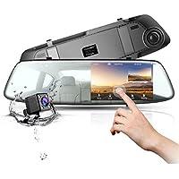 Dash Cam Backup Camera TOGUARD Mirror Dash Cam Rear view...