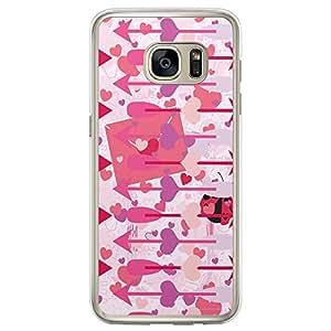 Loud Universe Samsung Galaxy S7 Edge Love Valentine Files Valentine 155 Printed Transparent Edge Case - Multi Color