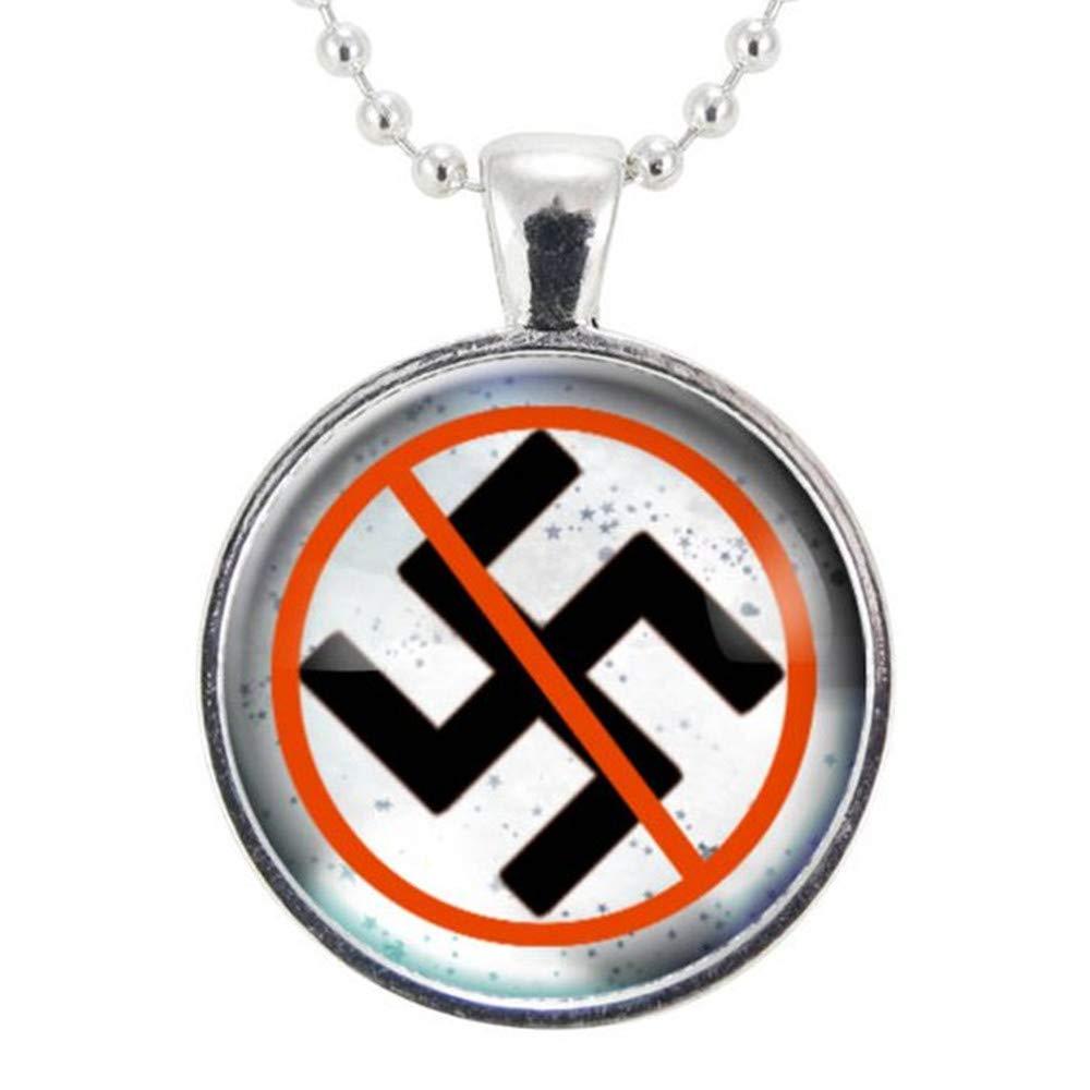Amazon | 反ナチスネックレス、...