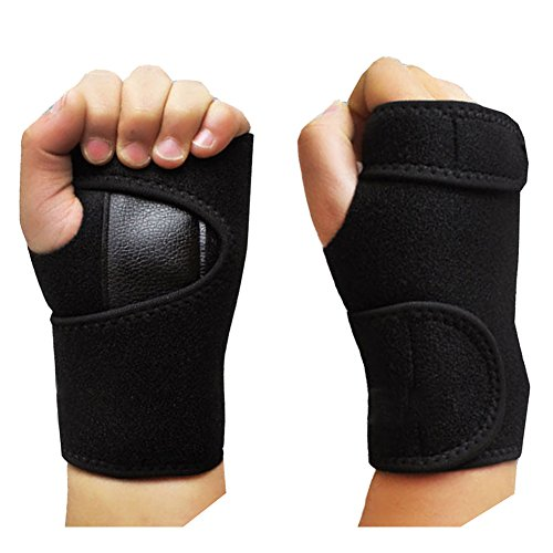 C Pioneer Wrist Support Hand Brace Band Carpal Tunnel Splint Arthritis Sprains Strain