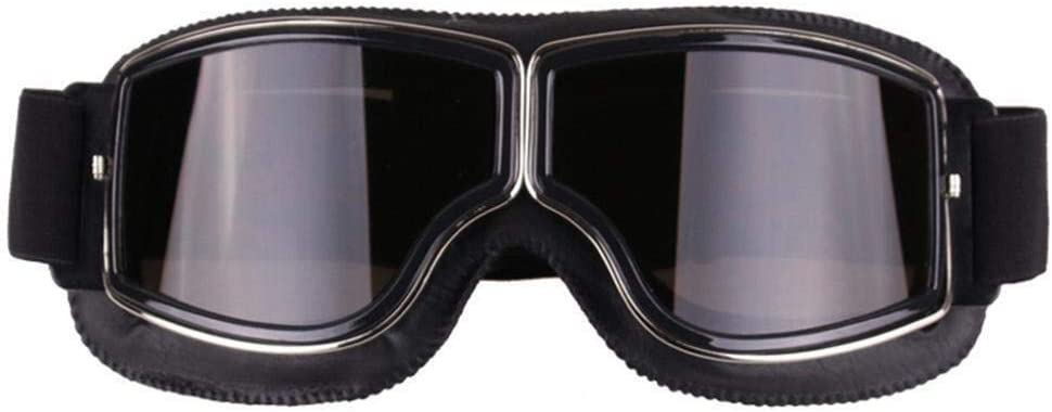 Motorradbrille Vintage Motorrad Brille Hd Motorrad Brille Biker Motorrad Harley Brille Uv Motorrad Brille Radfahren Sonnenbrille Coole Fahrrad Snowboard Winddichte Brille For Männer Auto