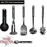 $59.00Royal Stainless Steel Kitchen Utensils Set & Cooking Tools, Lightweight Accessories & Cookware Utensils, Potato Masher, Slotted Turner, Soup Ladle, Spaghetti Spoon And More (6 piece)