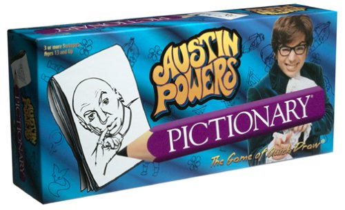 Austin Powers Pictionary Game -