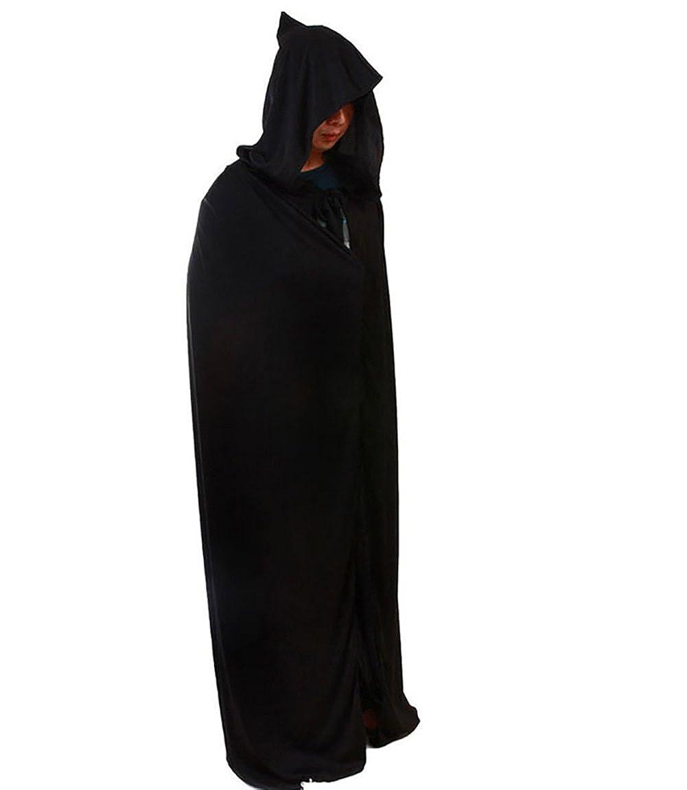 YiJee Adultos Traje Muerte Fiesta de Halloween Mantón del ...