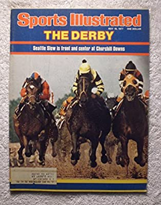 Seattle Slew - 1977 Kentucky Derby Winner - Sports Illustrated - May 16, 1977 - Horse Racing - Triple Crown - SI-2