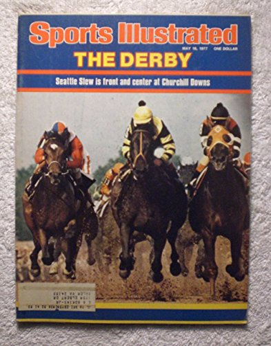 Seattle Slew - 1977 Kentucky Derby Winner - Sports Illustrated - May 16, 1977 - Horse Racing - Triple Crown - SI-2 (Kentucky Sports Illustrated)